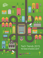 Tech Trends 2015 - The fusion of business and IT