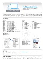 FileMaker Drill Book