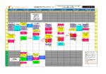 GW特別プログラムスケジュール