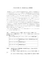 平成 26 年度第 1 回 BEAMS Stage 3 開催概要 BEAMS とは、日本