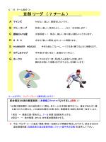 Ⅲ部 リーグ ( 7 チーム )