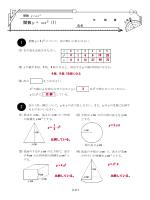 関数y = ax2 (1) y