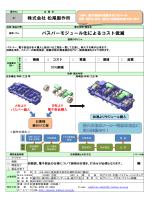 株式会社 松尾製作所 バスバーモジュール化によるコスト低減
