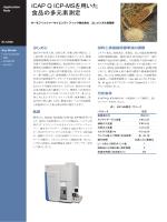 iCAP Q ICP-MSを用いた 食品の多元素測定