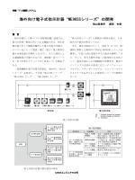 """"""" 海外向け電子式指示計器""""ME96SSシリーズ""""の開発"""