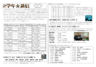 2学年だより - 茨城県立波崎高等学校