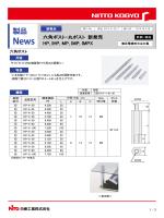 六角ポスト・丸ポスト 新発売 HP, IHP, MP, IMP, IMPX