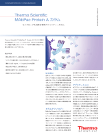 MAbPac Protein A カラム - Thermo Scientific ホーム
