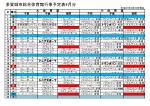 多賀城市総合体育館行事予定表4月分;pdf