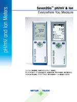 pH /m V and Ion Meters - メトラー・トレド - Mettler