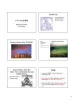 イギリス文学探訪 British Isle History before Celt, 2400 BC Celtic