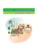 2014-2015 KOTATSU&FURNITURE CATALOG VoL.3