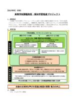 高等学校課題発見・解決学習推進プロジェクト (PDFファイル)