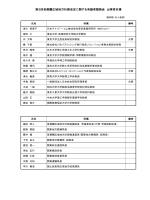 出席者名簿[PDF:64KB] - 国土交通省 関東地方整備局