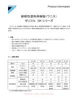 耐候性塗料用樹脂(ワニス) ゼッフル GK シリーズ