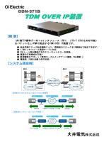 TDM OVER IP装置