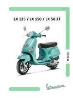 LX 125 / LX 150 / LX 50 2T