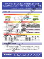 ポリシラザンをシリカ源として作製されるシリカ膜およびPMMA