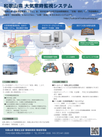 和歌山県 大気常時監視システム