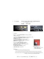 ⃝ TL Audio DUAL VALVE PRE AMP COMPRESSOR