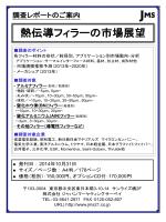 熱伝導フィラーの市場展望 - ジャパンマーケティングサーベイ