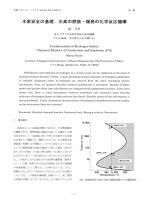 水素安全の基礎:水素の燃焼・爆発の化学反応機構