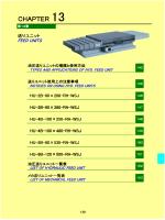 送りユニット - 志賀機械工業