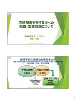発達障害を有する方への就職・定着支援について(PDF:1273KB