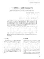 T形鉄骨間柱による耐震補強工法の開発