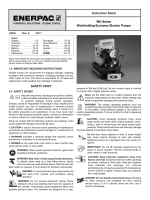SAFETY FIRST Instruction Sheet WU Series Workholding
