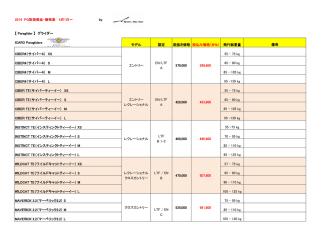 2014総合価格表