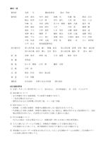 審判・係 試合運営事項
