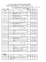 アジア防災 平成26年度 愛媛大学大学院理工学研究科博士前期課程
