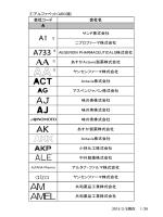 アルファベット - 日本製薬団体連合会
