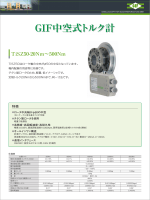 GIF中空式トルク計