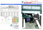 SUNLEDシリーズ - サンナイス株式会社