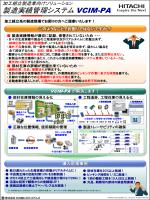 製造実績管理システム VCIM-PA