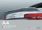Audi A4 A4 Sedan / Avant Audi S4 S4 Sedan / Avant Audi RS 4 Avant