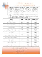 プリンシェルシリーズ リニューアル発売のお知らせ