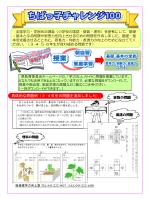 ちばっ子チャレンジ100リーフレット(PDF:921KB)