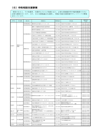 (6)市町相談支援事業 (PDFファイル)