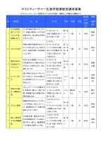 生涯学習講座4月募集(PDF:271KB)