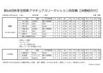 第64回秋季全関東アマチュアスリークッション四段戦【決勝組合せ】