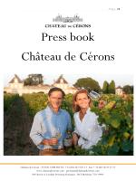 Télécharger le PDF - Le Château de Cérons