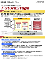 財務会計・管理会計システム FutureStage統合DB