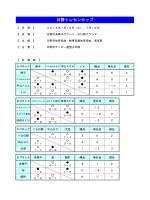 日野トレセンカップ 2014