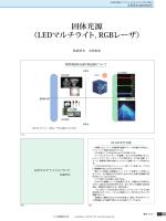 固体光源 (LEDマルチライト, RGBレーザ)