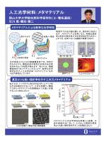 人工光学材料:メタマテリアル