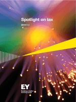 Spotlight on tax 2015