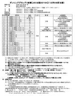 ダンシンググランプリ滋賀【JDC公認2015**A】(12月